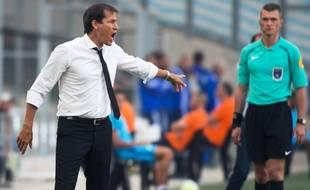 Quand Rudi Garcia fâché, lui toujours faire ainsi.