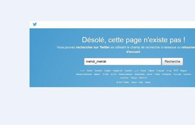Le compte Twitter de Mehdi Meklat a été supprimé