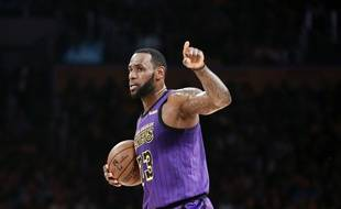 LeBron James avec les Lakers