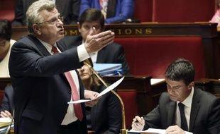 Le secrétaire d'Etat au Budget Christian Eckert à l'Assemblée nationale à Paris, le 1er octobre 2014