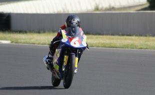 Alexis Boudin a commencé la moto à 4 ans (sur des parkings !)