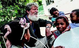 Photo non datée de Père Pedro, fondateur de l'association Akamasoa à Madagascar.