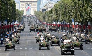Comme chaque années, le défilé militaire sera le fait marquant du 14-Juillet à Paris. (archives)