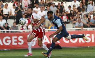 Le match entre Ajaccio et Le Havre a dégénéré.