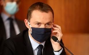 Le ministre Olivier Dussopt