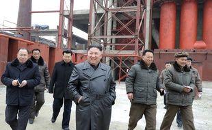 Kim Jong-un le 7 janvier 2020 à Sunchon (illustration).
