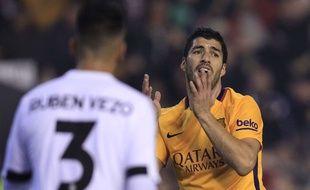 Luis Suarez lors du match entre Valence et le Barça le 5 décembre 2015.