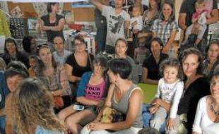 32 parents ont pris place dans la classe