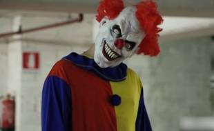Un chauffard portant un masque de clown a pris la fuite après un rodéo en voiture près de Rouen. (illustration)