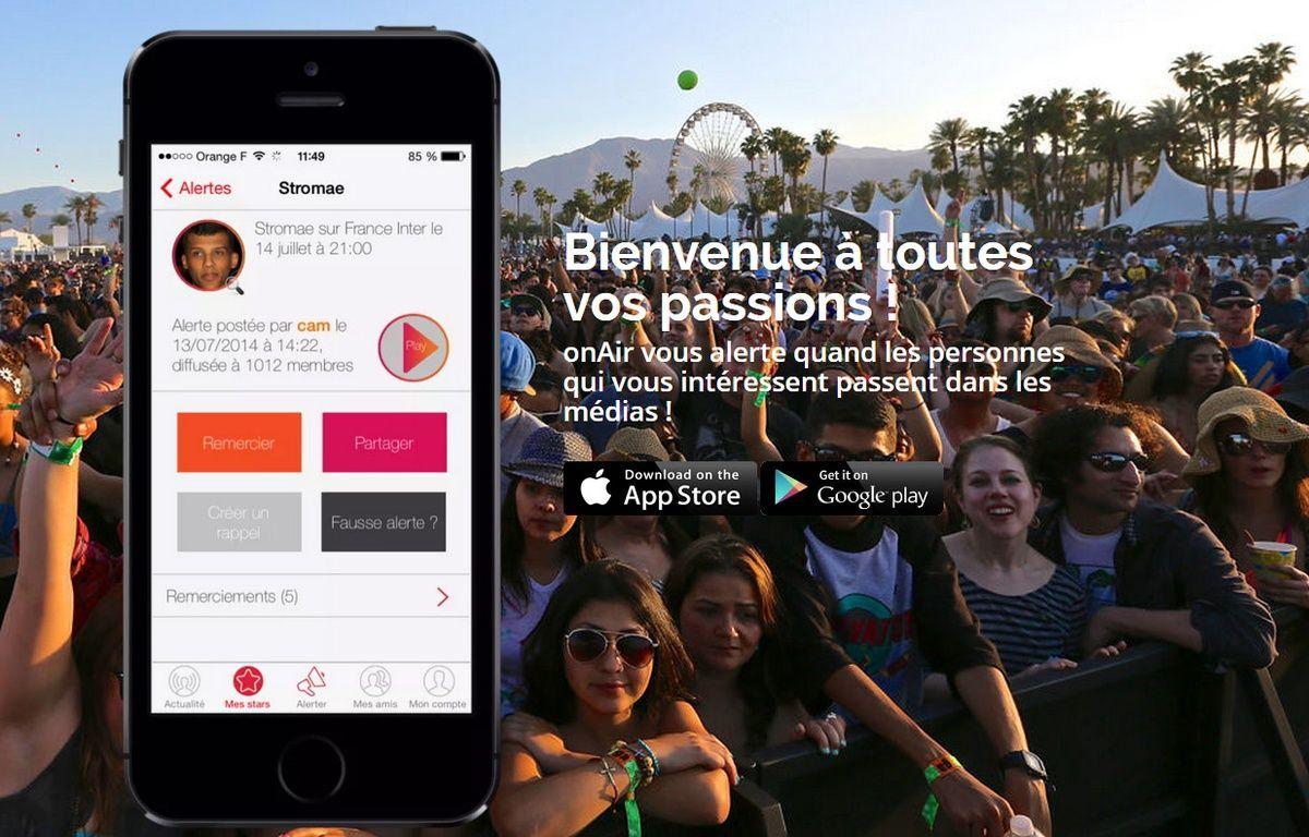 L'application OnAir est disponible sur iOs et Android – OnAir
