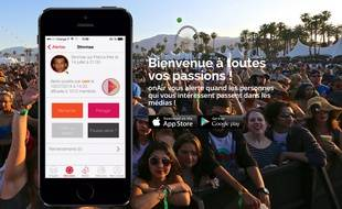 L'application OnAir est disponible sur iOs et Android