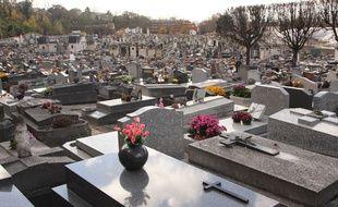 Le cimetière de Pantin. (Illustration)