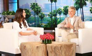 Mila Kunis était l'invité Ellen Degeneres le 3 février 2015.