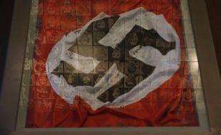 Illustration d'un drapeau nazi.