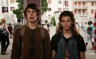 Capture d'écran du film Les Beaux Gosses.