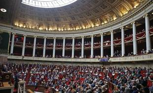 L'Assemblée nationale, le 17 avril 2018 (image d'illustration).