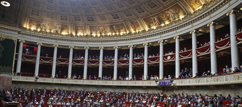 L'Assemblée nationale, le 17 avril 2018 (image d'illustration).