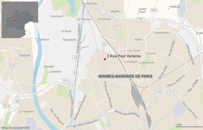 L'incendie s'est déclenché peu après 22 heures dans un immeuble de 4 étages du quartier de La Vache.