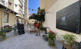 L'Atelier Alfred Café est un lieu associatif qui a ouvert en octobre à Nice