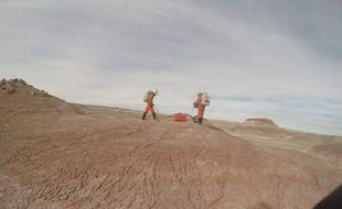 Les deux étudiants toulousains sont du 31 décembre 2016 au 15 janvier 2017 sur la station de recherche de la Mars Society, dans le désert de l'Utah.