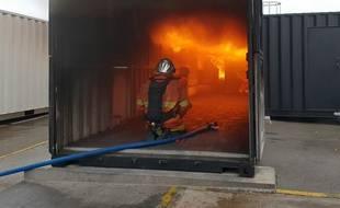 Les pompiers du Nord ont reçu un nouveau Centre d'observation des phénomènes thermiques.