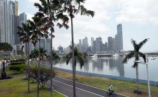 Des gratte-ciel du quartier d'affaires de Panama, le 4 avril 2016