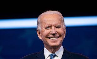 Joe Biden dans le Delaware le 22 décembre 2020.