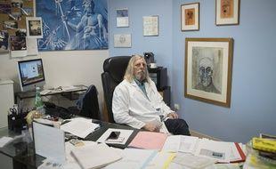 Le professeur Didier Raoult en février 2020