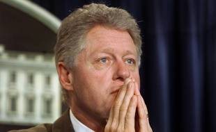 Bill Clinton à la Maison-Blanche, le 28 décembre 2000.