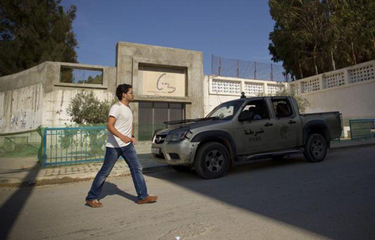 L'ambassade de France a ordonné la fermeture des établissements scolaires francais dans 20 pays, comme ici au lycee français Gustave Flaubert à Tunis.  – V.WARTNER / 20 MINUTES