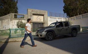 L'ambassade de France a ordonné la fermeture des établissements scolaires francais dans 20 pays, comme ici au lycee français Gustave Flaubert à Tunis.