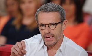 Lambert Wilson le 16 avril 2014 dans l'émission Vivement Dimanche sur France 2