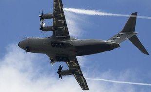 Un A400m de la firme Airbus.