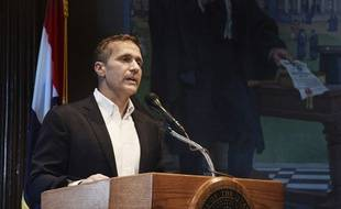 Le gouverneur de l'Etat américain du Missouri, Eric Greitens.