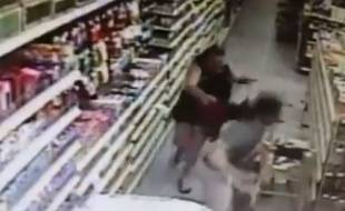 La mère a empêché le kidnapping de sa fille.