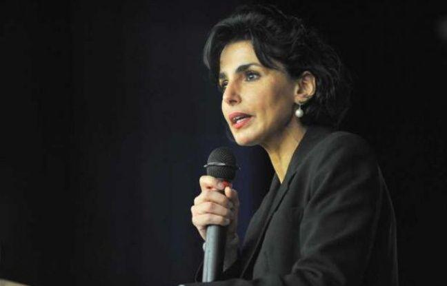 Rachida Dati, le 18 avril 2012 à Azay-le-Rideau.