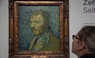 « Self Portrait », un tableau du peintre de Vincent van Gogh .