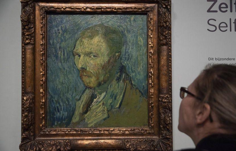 Van Gogh : Un autoportrait du peintre souffrant de psychose authentifié