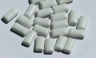 des chewing gum. (Illustration)