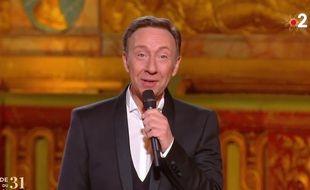 Stéphane Bern lors de la soirée du 31 décembre 2020