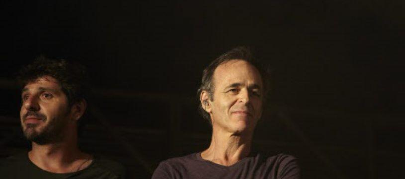 Le chanteur Jean-Jacques Goldman