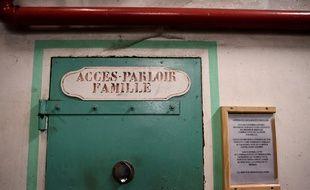 Parloirs à la prison de Fresnes le 11 janvier 2018.