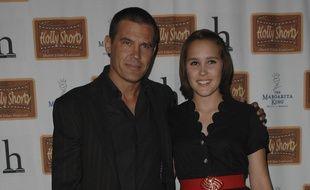 L'acteur Josh Brolin et sa fille Eden