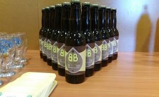 Strasbourg, le 14 septembre 2016: lancement d'une nouvelle biere bio et locale en Alsace