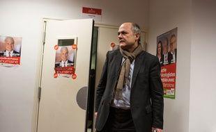 Le chef de file des députés socialistes Bruno Leroux à Paris, le 13 décembre 2015.