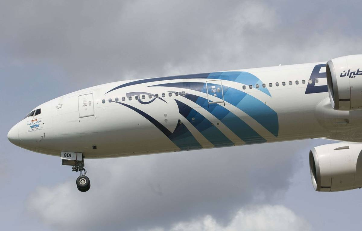 Un avion de la compagnie EgyptAir. –  Jed Leicester/Shutterst/SIPA