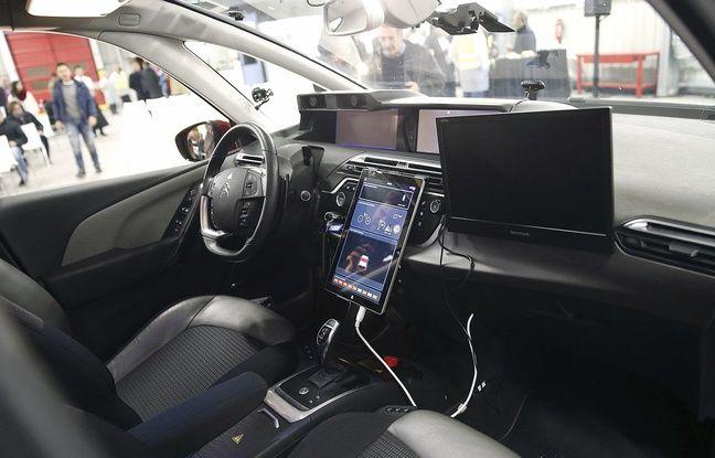 Illustration de l'intérieur d'une Citroën C4