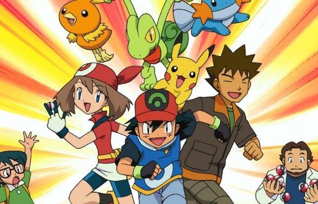 Les mythiques dresseurs accompagnés de leurs Pokémons