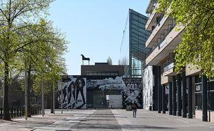 Une rue désertée à Strasbourg, le 6 avril 2020.