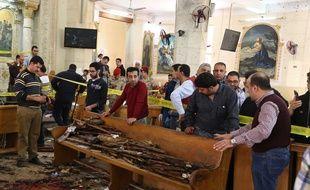 Tanta (Egypte). Un double-attentat a frappé deux églises coptes lors de l'office des Rameaux.